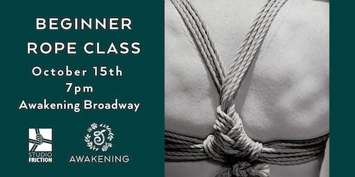Beginner Rope Class