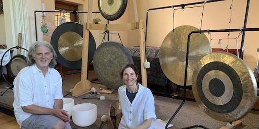 Gong Bath Sound Meditation: Full Moon in Aries