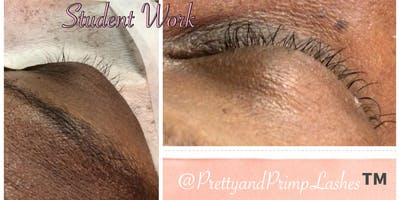 Individual Eyelash Extension Training & Certification