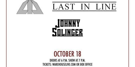 LAST IN LINE, JOHNNY SOLINGER (of SKID ROW), KENDALL MASON BAND tickets