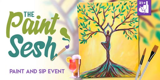 """Paint Night in Norco, CA - """"Growth"""""""