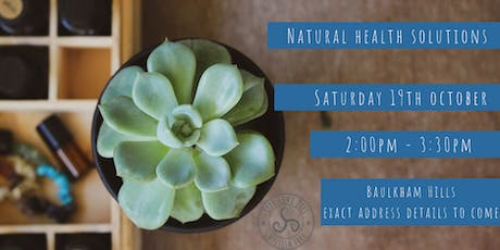 Natural Health Solutions with Essential Oils tickets