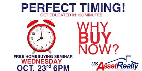 Perfect Timing Home Buyers Class tickets