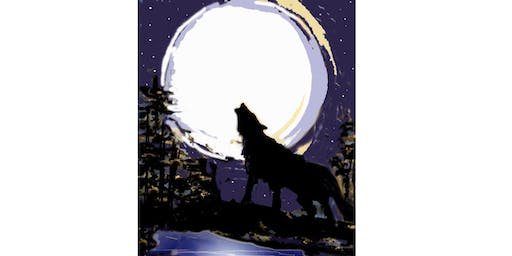 Wolf Moon - Paint & Sip Night - Snacks Included