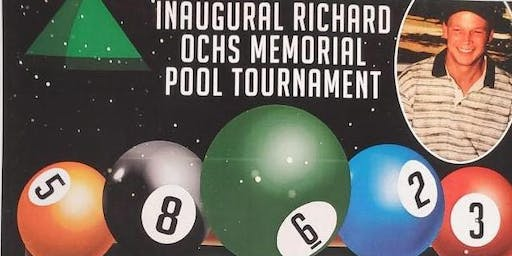 RICK OCHS Memorial  Pool Tounament at Bigs Bar Sioux falls