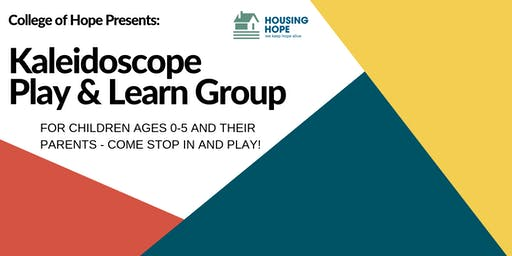Kaleidoscope Play & Learn Group