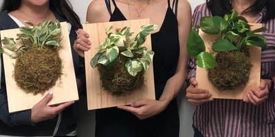 Living Wall Plant Workshop at Ritual Coffee