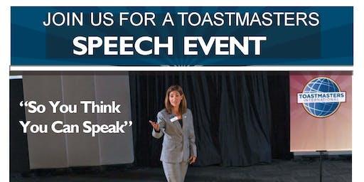 Elgin Speaking Event