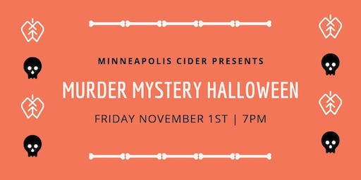 Murder Mystery Halloween (SOLD OUT)