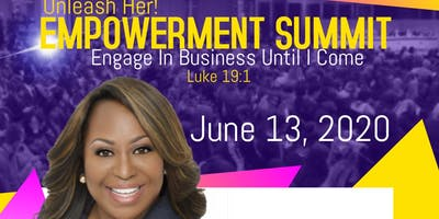 Unleash Her! Empowerment Summit w/Cindy Trimm (Vendor Opportunities)