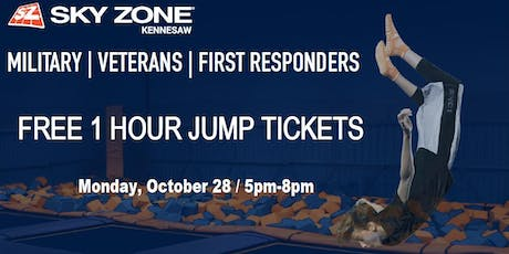 First Responder's Night At Skyzone tickets