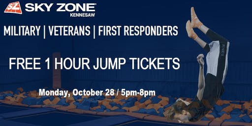 First Responder's Night At Skyzone