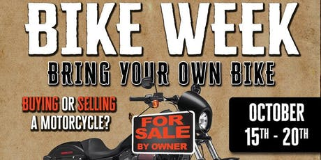 SVHD's Bike Week tickets