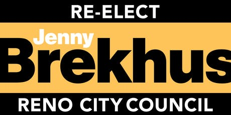 Reception in support of Jenny Brekhus' campaign for re-election tickets
