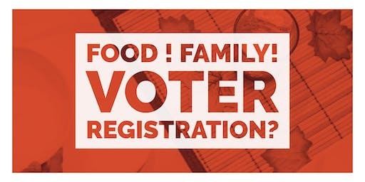 Food ! Family! Voter Registration?  - Resource Fair Site