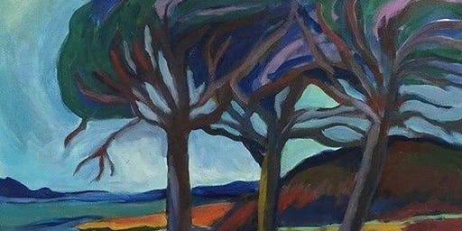 Macaulay Point by Emily Carr Paint & Sip Night - Art Painting, Drink & Food