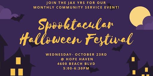 JYR October Community Service: Spooktacular Halloween Festival!