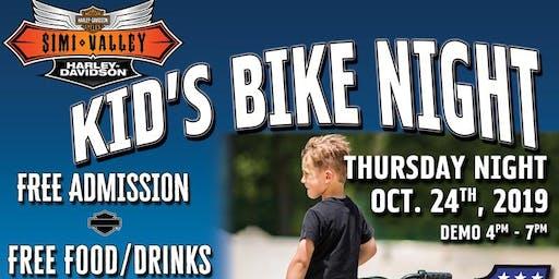 SVHD Presents Kid's Bike Night!