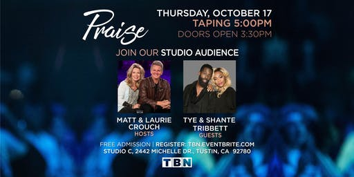 CA - Tye & Shante Tribbett with Matt & Laurie Crouch