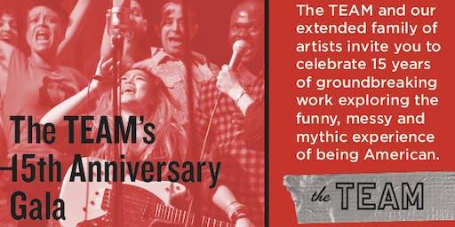 The TEAM's 15th Anniversary Gala