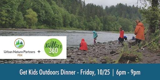 Get Kids Outdoors Dinner