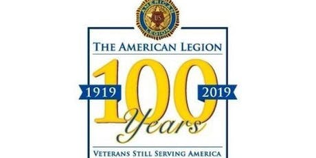 American Legion 100th Birthday Gala for Posts 82 and 105 tickets