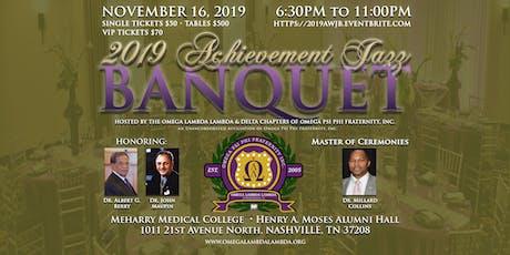 2019 Achievement Jazz Banquet tickets