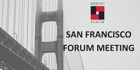 October 23, 2019 Keiretsu Forum San Francisco tickets