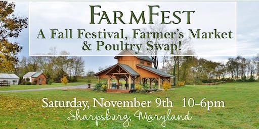 Farm Fest - November 9th at Green Hill Farm
