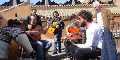 PEPE DEL MORAO teaches 2-day GUITAR WORKSHOP:  Bay Area Flamenco presents