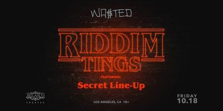 RIDDIM TINGS x LOS ANGELES tickets