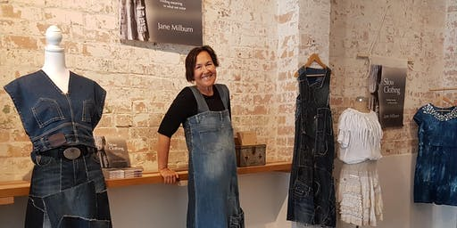 New life for old clothes – Up-cycling workshop at the Cooroy Library