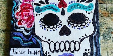 10/16 $22 Sugar Skull @ Paint Like ME!  tickets