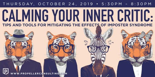 Calming Your Inner Critic (PDX) • A Propel Her Event
