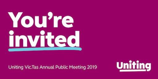 Uniting Vic.Tas Melbourne Annual Public Meeting 2019