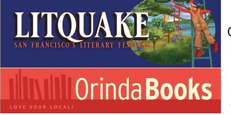 Litquake at Orinda Books tickets