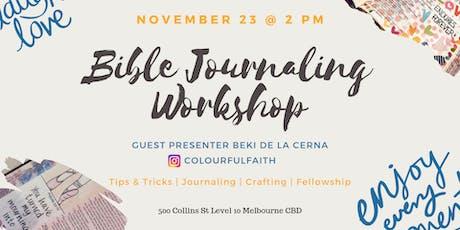 Bible Journaling Workshop tickets