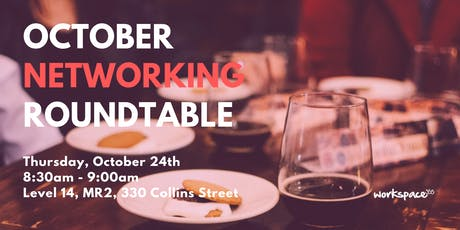 workspace365 October Networking Roundtable tickets