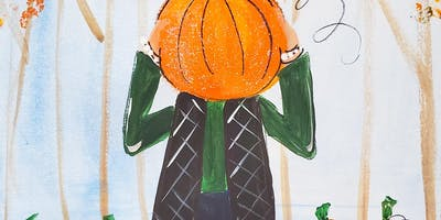 10/19 $22 Pumpkin Head @ Paint Like ME!