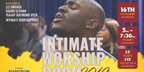 Intimate Worship Room 2019 tickets