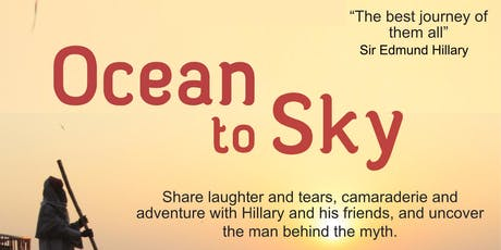Ocean to Sky - Graeme Dingle Foundation Wellington Preview Screening tickets