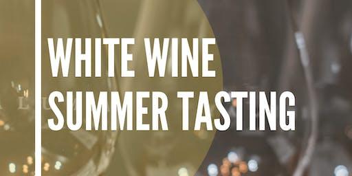 Best white wine for Summer Tasting!
