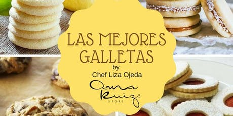 Las Mejores Galletas con la Chef Liza Ojeda en Anna Ruíz Store entradas