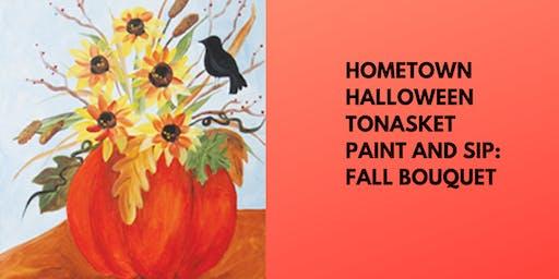 Hometown Halloween Tonasket Paint and Sip: Fall Bouquet