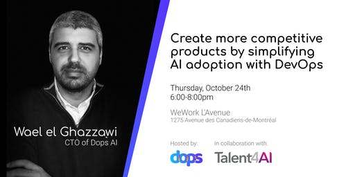 Create more competitive products by simplifying AI adoption with DevOps