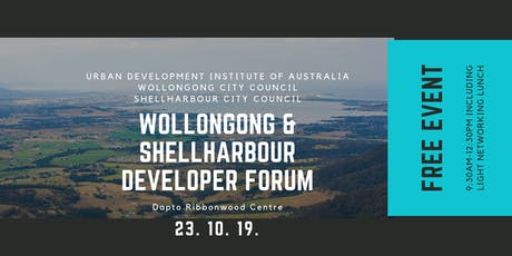Wollongong & Shellharbour Developer Forum tickets