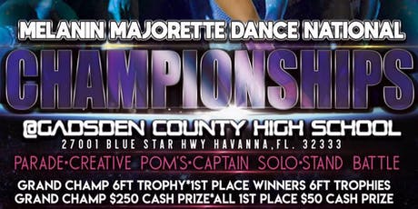Melanin Majorette Dance National Championships tickets