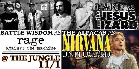 Battle Wisdom, TRIBUTE, The Alpacas - cover night at the Jungle tickets