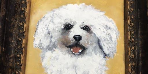 Brews & Brushstrokes: Pet Portrait Night