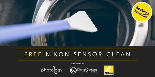 Free Sensor Clean for Nikon Cameras - 24/10/2019 - Melbourne